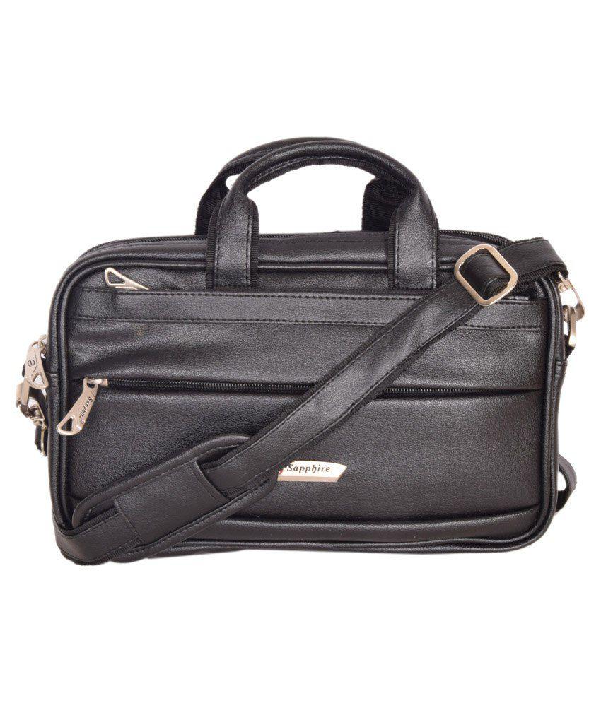 Sapphire Black Laptop Bag