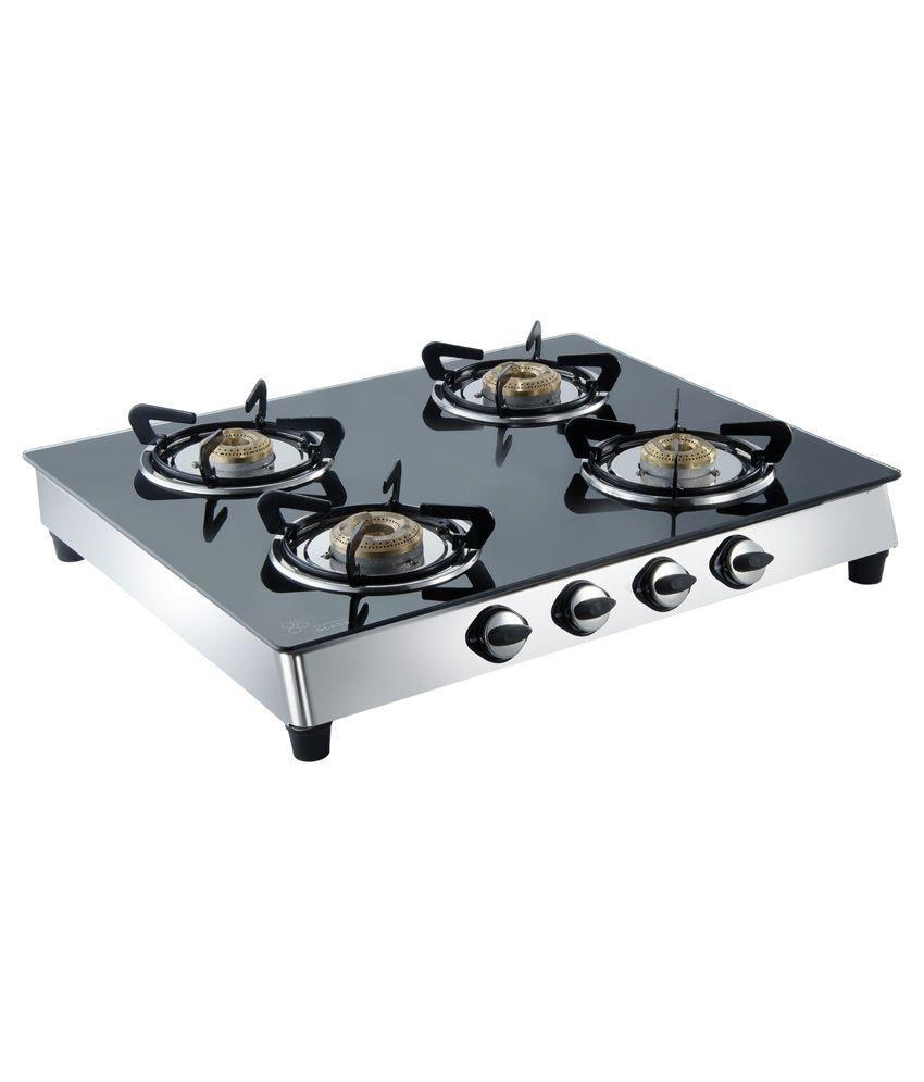 Surya Benz Toughened Glass Gas Cooktop (4 Burner)