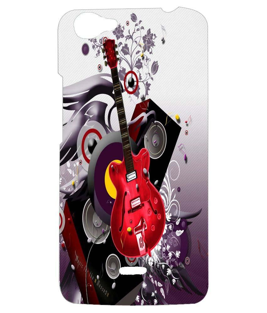 new product 2952c 5e802 Neu Speed Back Cover For Micromax Bolt Q338 - Multicolour - Printed ...