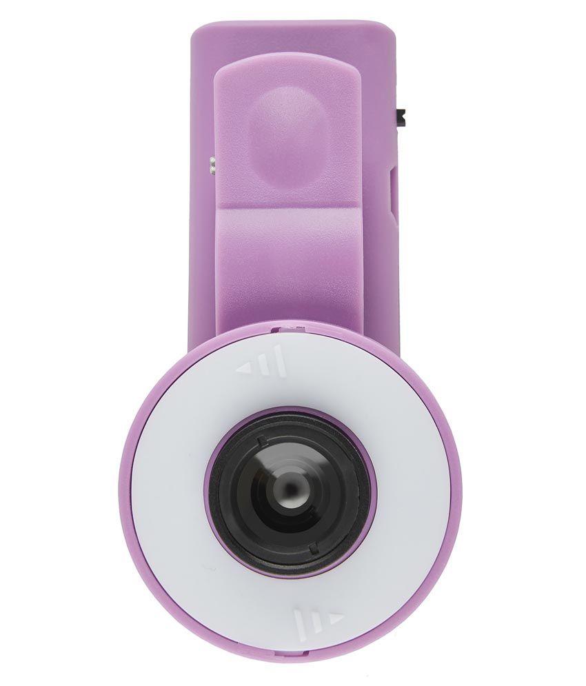 Smiledrive 2 In 1 Selfie Flash Light With Lens