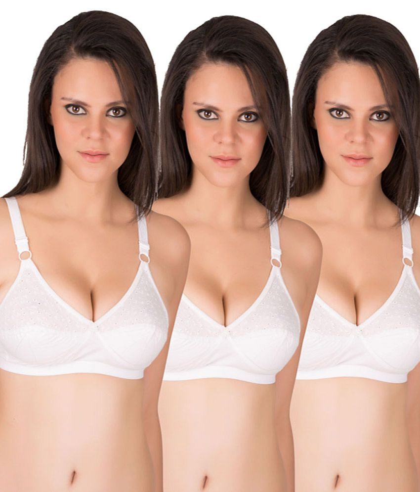 fc56cabd38 Buy Eve s Beauty White Bra Online at Best Prices in India - Snapdeal