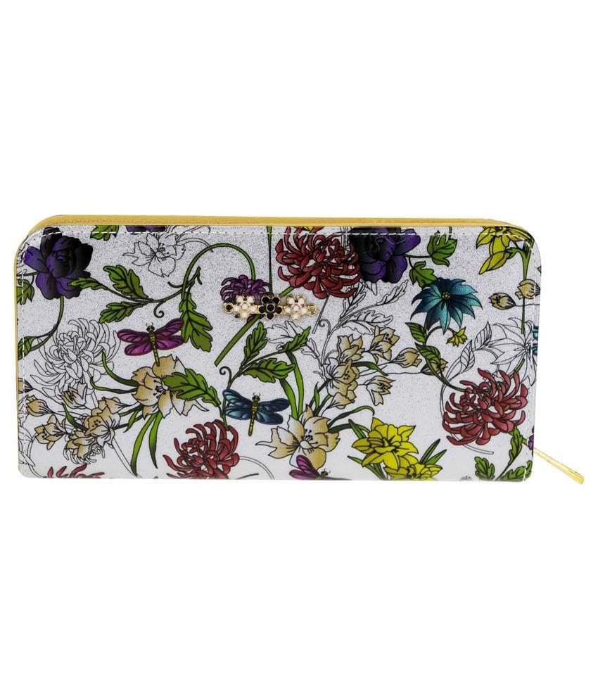 Genious Multicolor Casual Wallet For Women