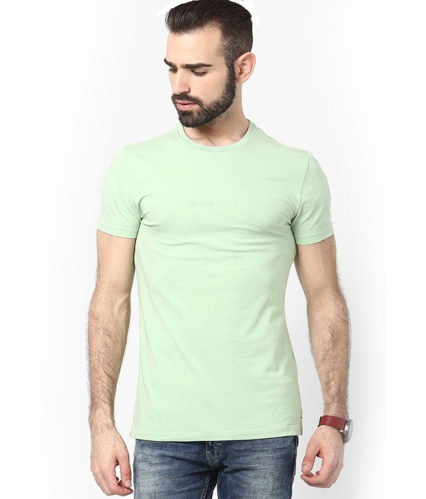 Soft Peach Cotton T-shirt