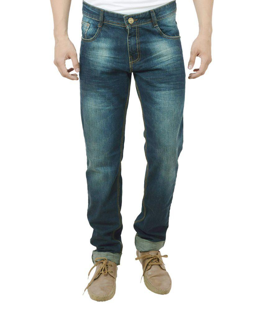 Studio Nexx Green Slim Fit Jeans