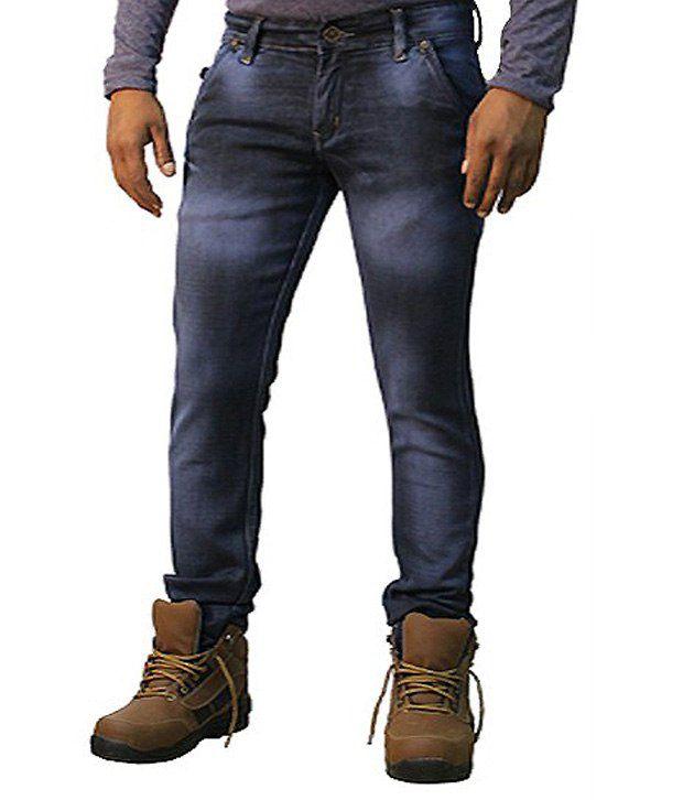 Dustin Jeans Blue Slim Fit Jeans