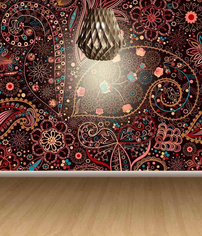 FineArts Digitally Printed Wallpaper Floral Art