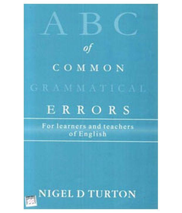 common gramatical errors