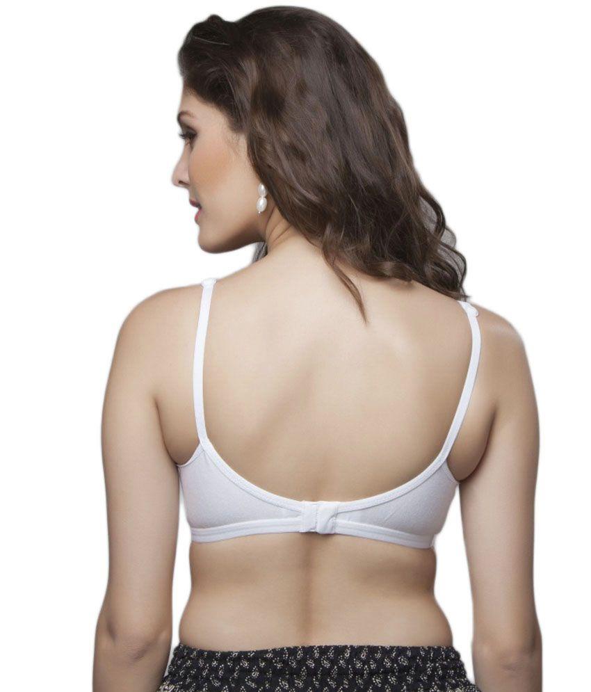 88388a154cf73 Buy Skiva Cotton Hosiery Bra Pack Of 1 Online at Best Prices in ...