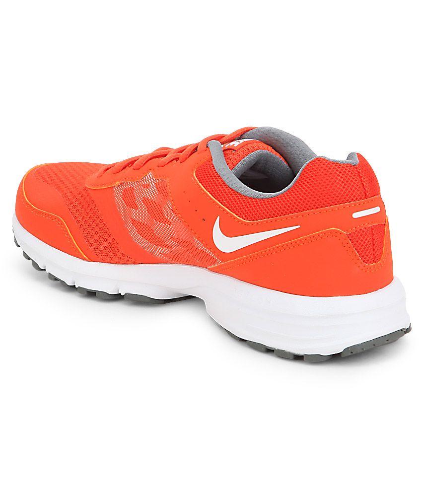... Nike Air Relentless 4 Msl Orange Sports Shoes ...