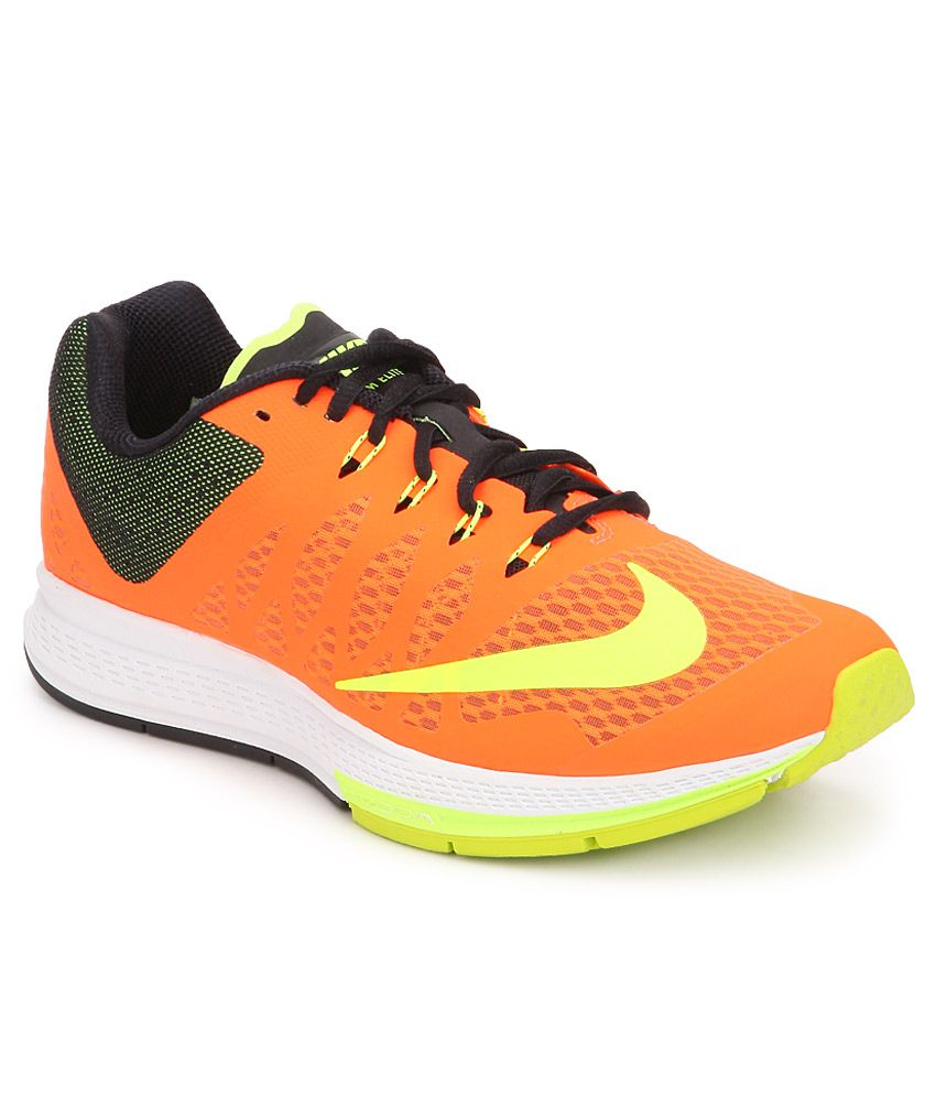 purchase cheap 5ffd3 624f4 Nike Air Zoom Elite 7 Orange Sports Shoes