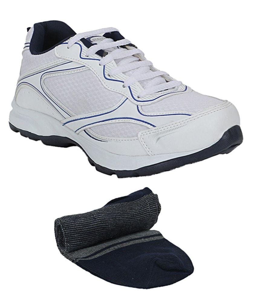 Rod Takes White Sports Shoes