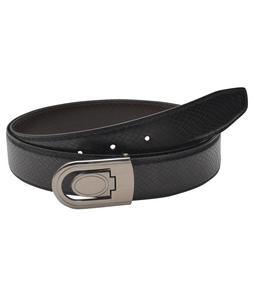 MxMilanoX'Xssories Black Formal Belt