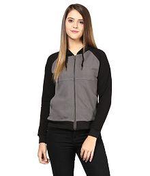 Hypernation Gray Cotton Jackets