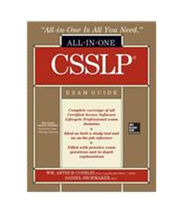 Csslp Certification All In One Exam Guide With Cdrom Buy Csslp