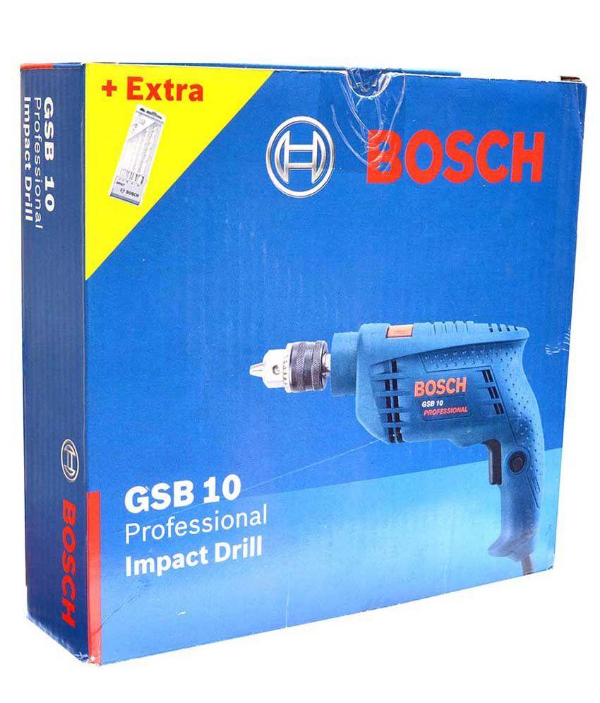 Bosch Drill Machine Gsb10: Buy Bosch Drill Machine Gsb10 ...