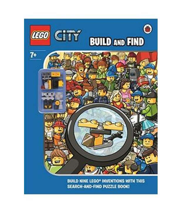 Lego City : Build And Find With Minifigure: Buy Lego City : Build ...