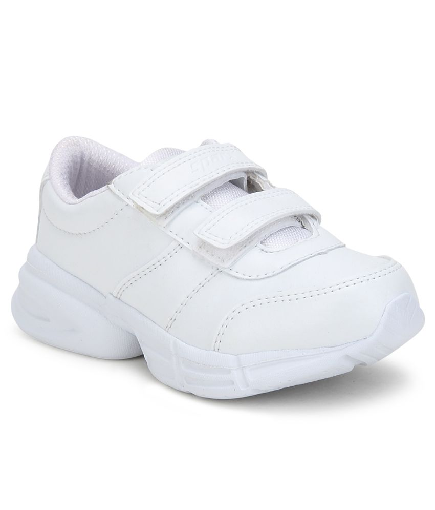 4f5d1440d00b Sparx White Sports Shoes For Kids available at SnapDeal for Rs.639