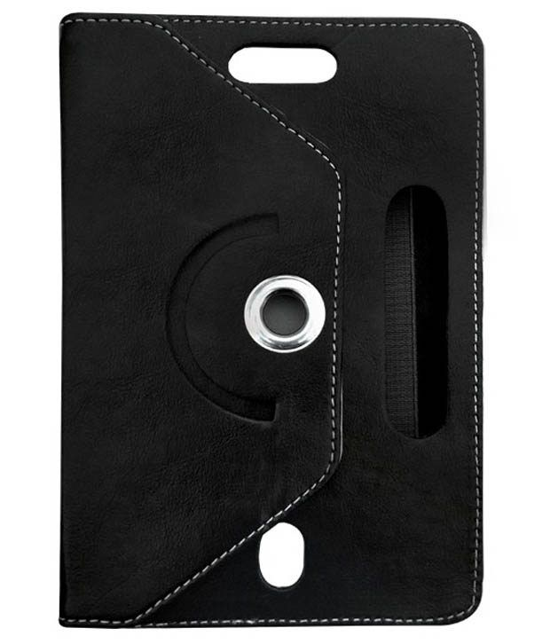 Fastway Rotating Flip Cover For iball Slide Octa A41-Black