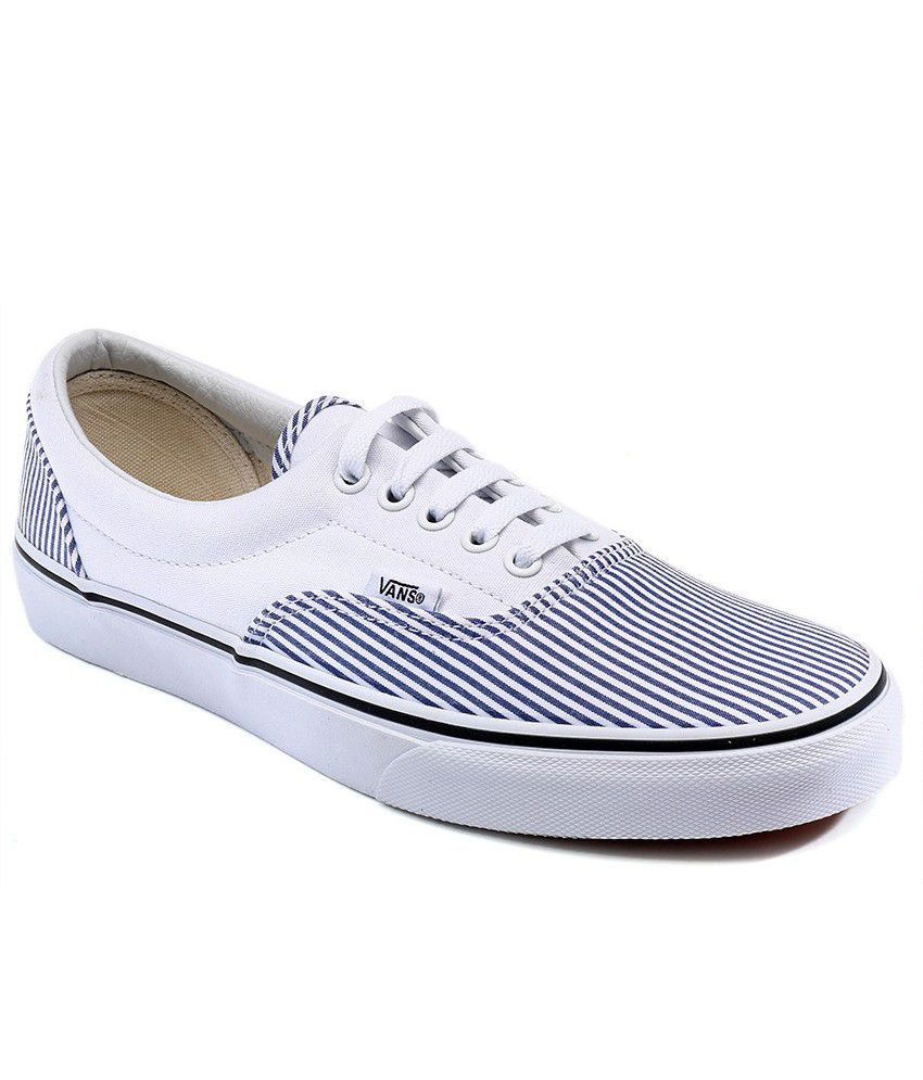 34dc3adbaee6ee Vans Era White Casual Shoes - Buy Vans Era White Casual Shoes Online at Best  Prices in India on Snapdeal