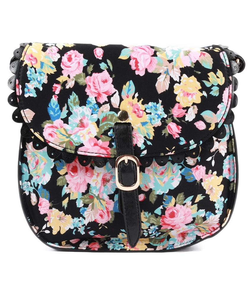 Heaven Deal Black Sling Bag