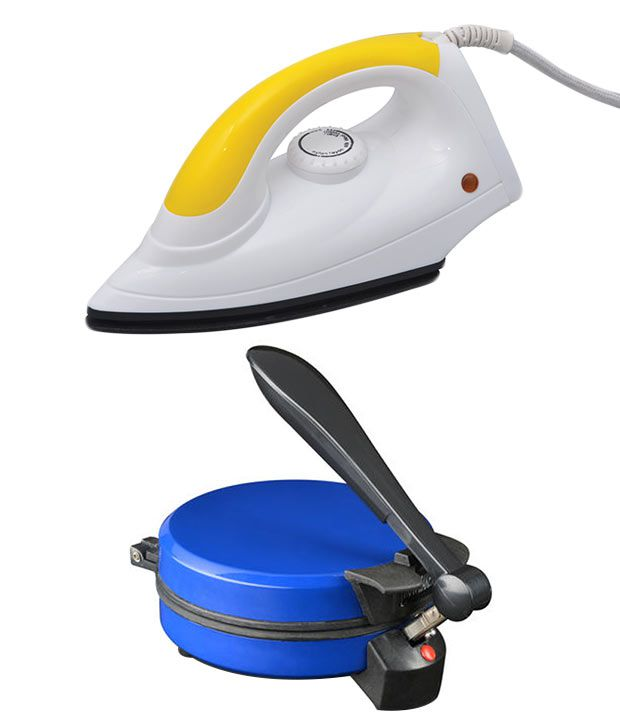 Spunk The Perfect Choice Combo of Roti Maker and Dry Iron