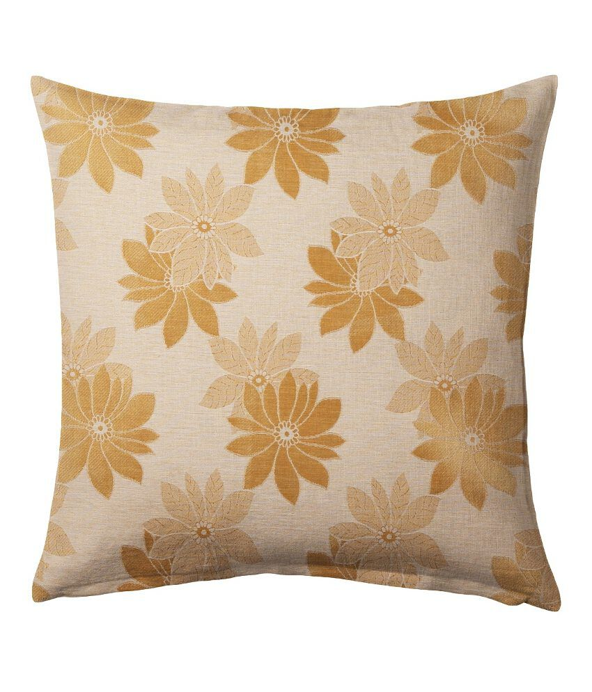 Suam Gold Polyester Cushion Cover