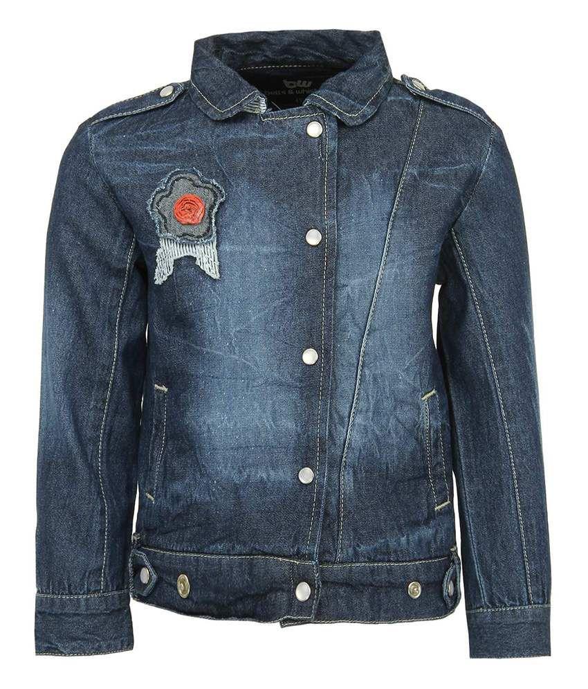 Bells & Whistles Blue Without Hood Denim Jackets