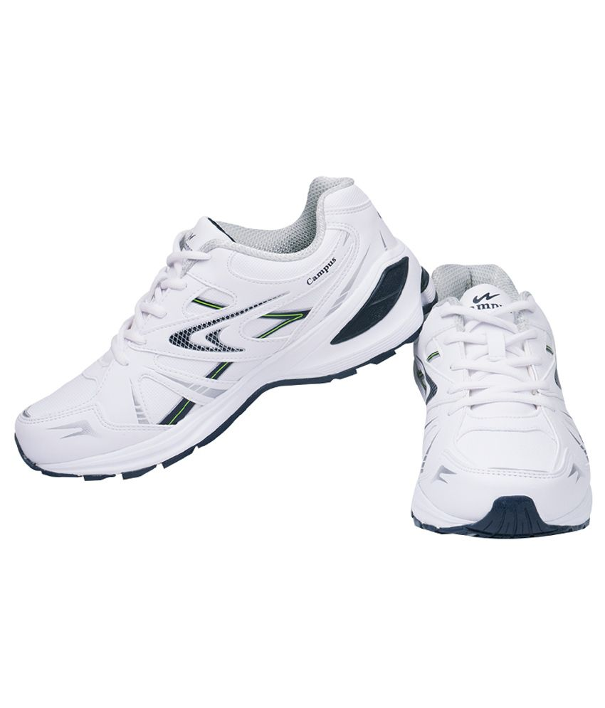 Campus Milford White Sports Shoes