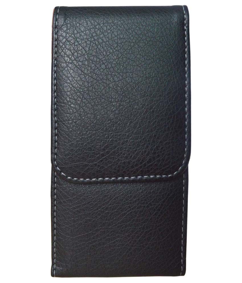 TOTTA Vertical PU Leather Belt Pouch For Sony Xperia Arc S- BLACK