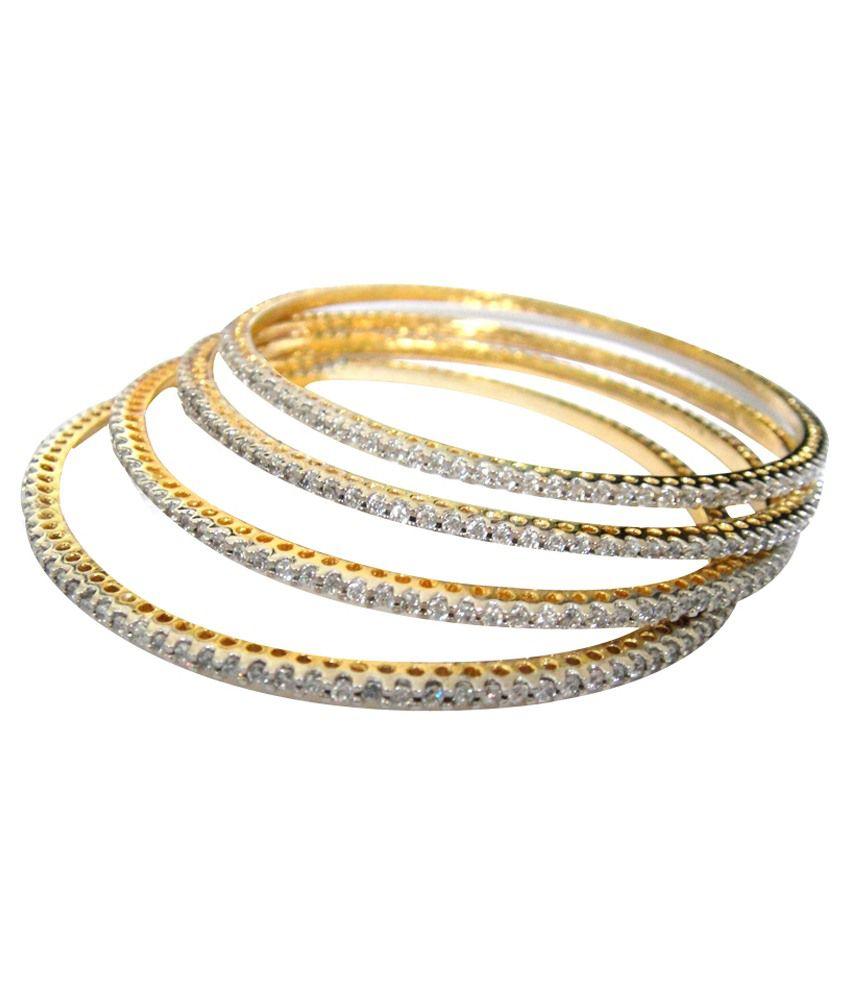 Krishna Bangles Golden Alloy Bangle
