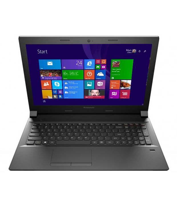 Lenovo B50-80 Notebook (80EW02D9IH) (Intel Pentium- 4GB RAM- 500GB HDD- 39.62 cm (15.6)- Windows 8.1) (Black)