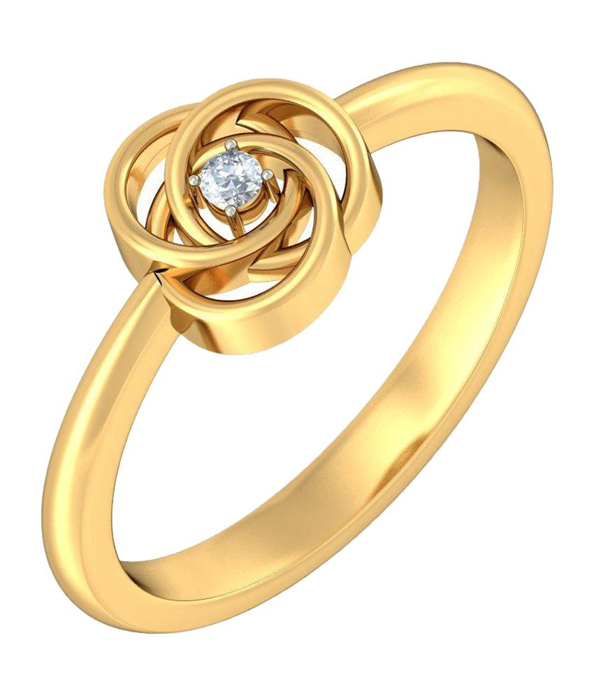 BlueStone 18kt Yellow Gold Ceeran Ring
