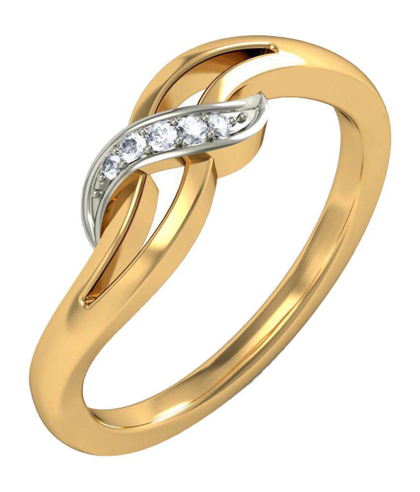 BlueStone 18kt Yellow Gold Gioia Ring