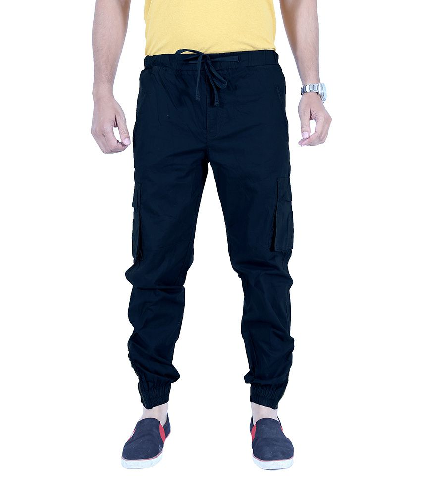 Uber Urban Navy Slim Fit Casual Chinos Trouser