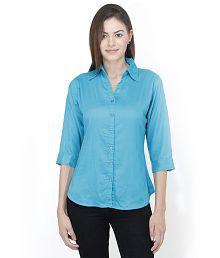 Mayra Green Rayon Shirts