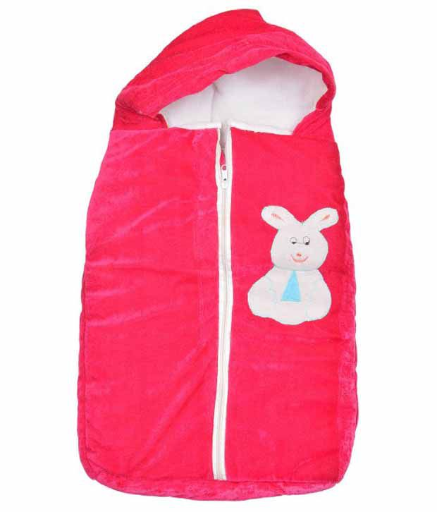 Kws Red Poly Cotton Baby Wrap