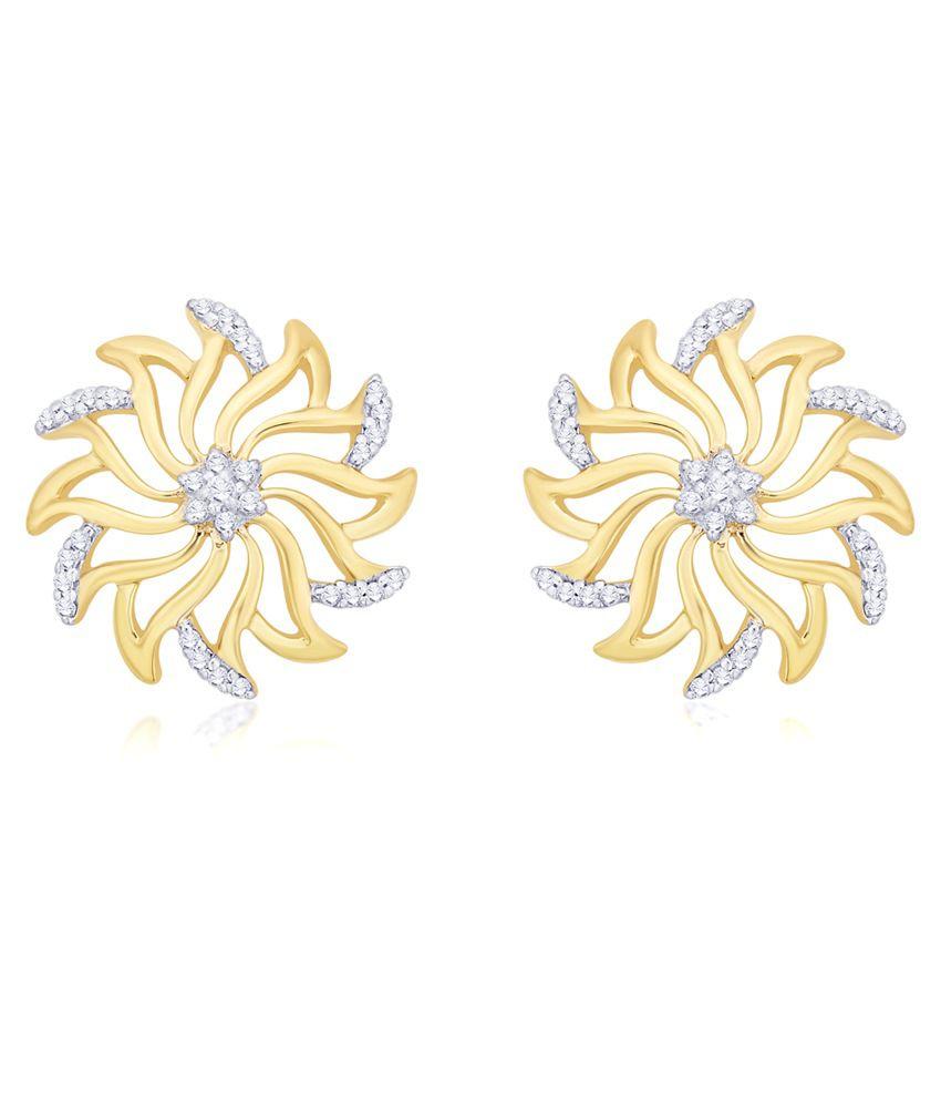 Diti 14Kt Gold Stud Earrings