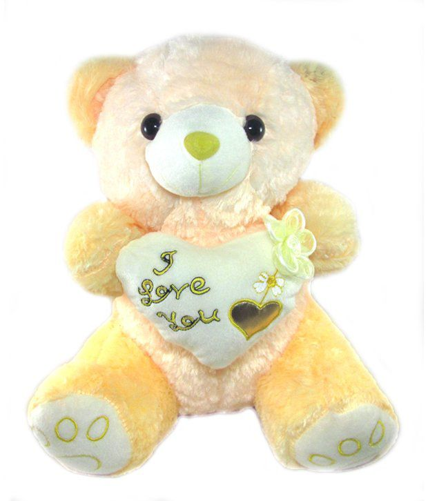 Tickles Yellow Teddy