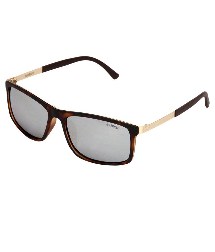 Ferrero Brown Frame Wayfarer Sunglasses