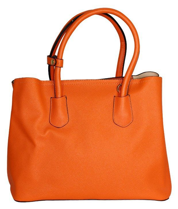 Gift Island Orange Shoulder Bag