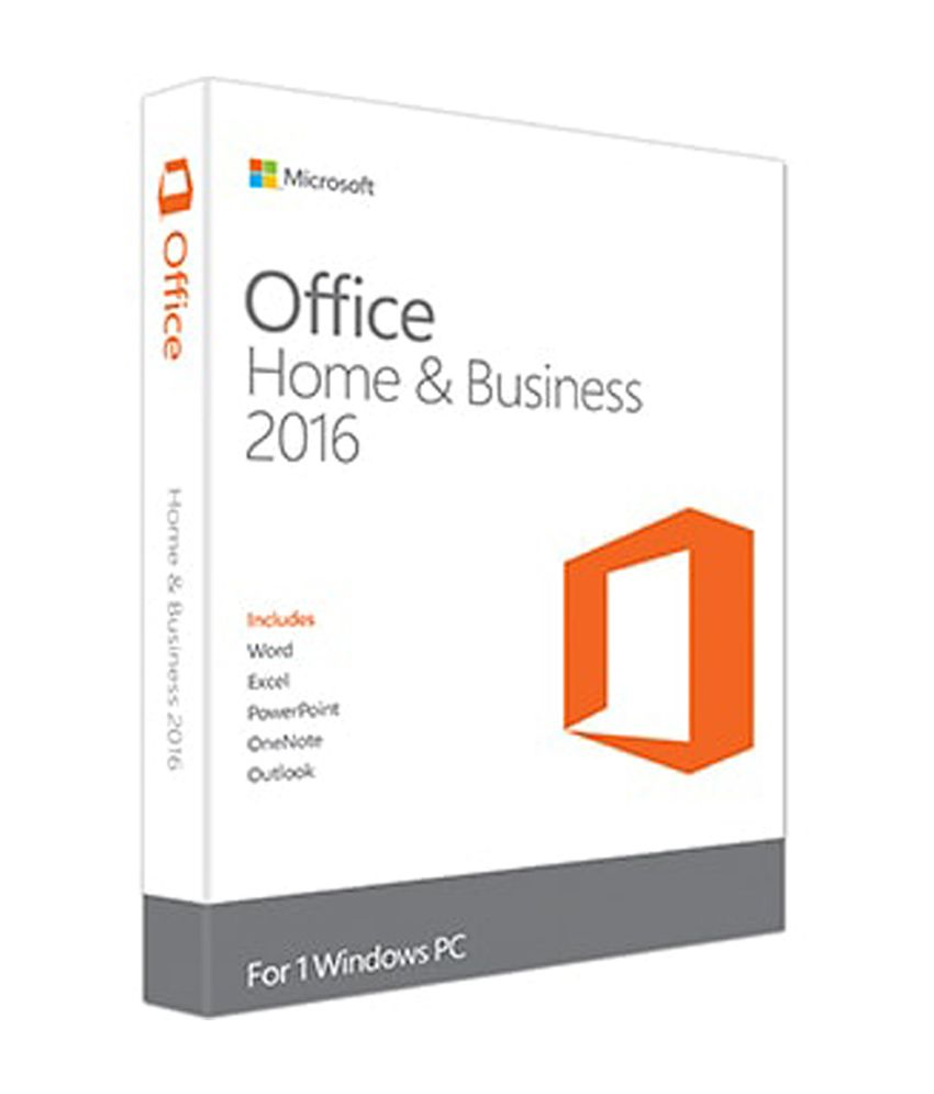 Microsoft office home business 2016 low price