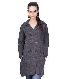 Montrex Gray Woollen Coats