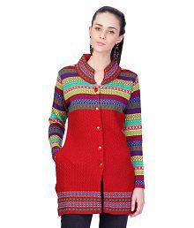 Montrex Red Woollen Coats