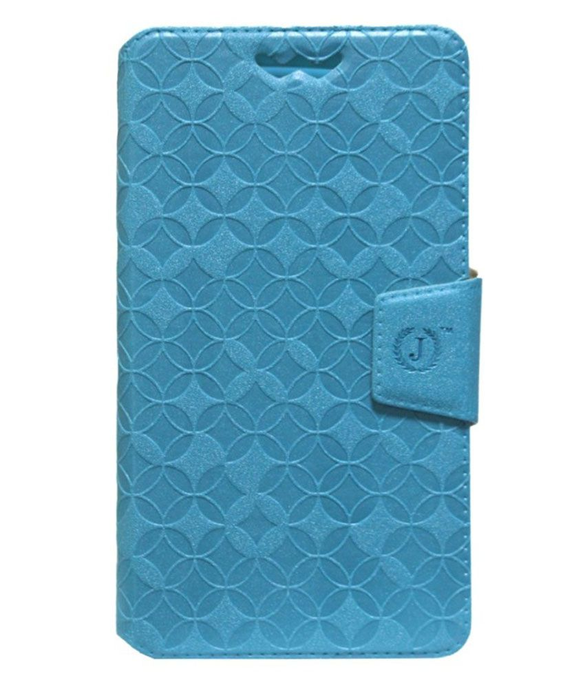 Jo Jo Flip Cover For Samsung Galaxy Grand 2 SM-G7105 with LTE network support - Blue