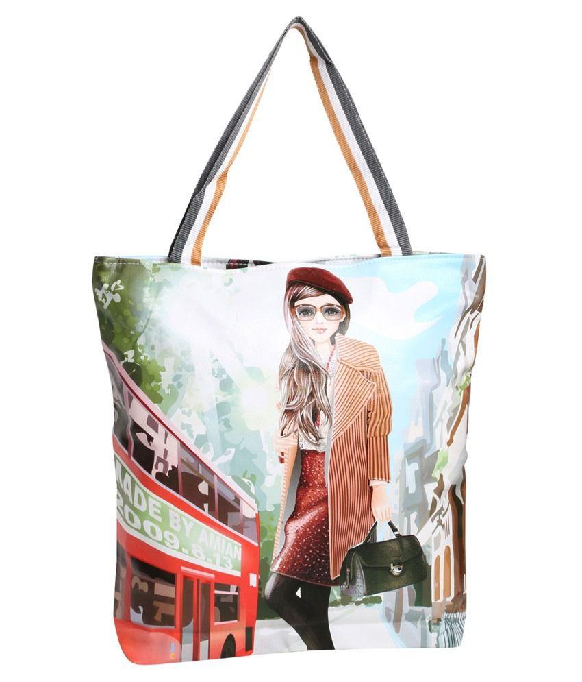 Satchel Bags Multicolour Shoulder Bag