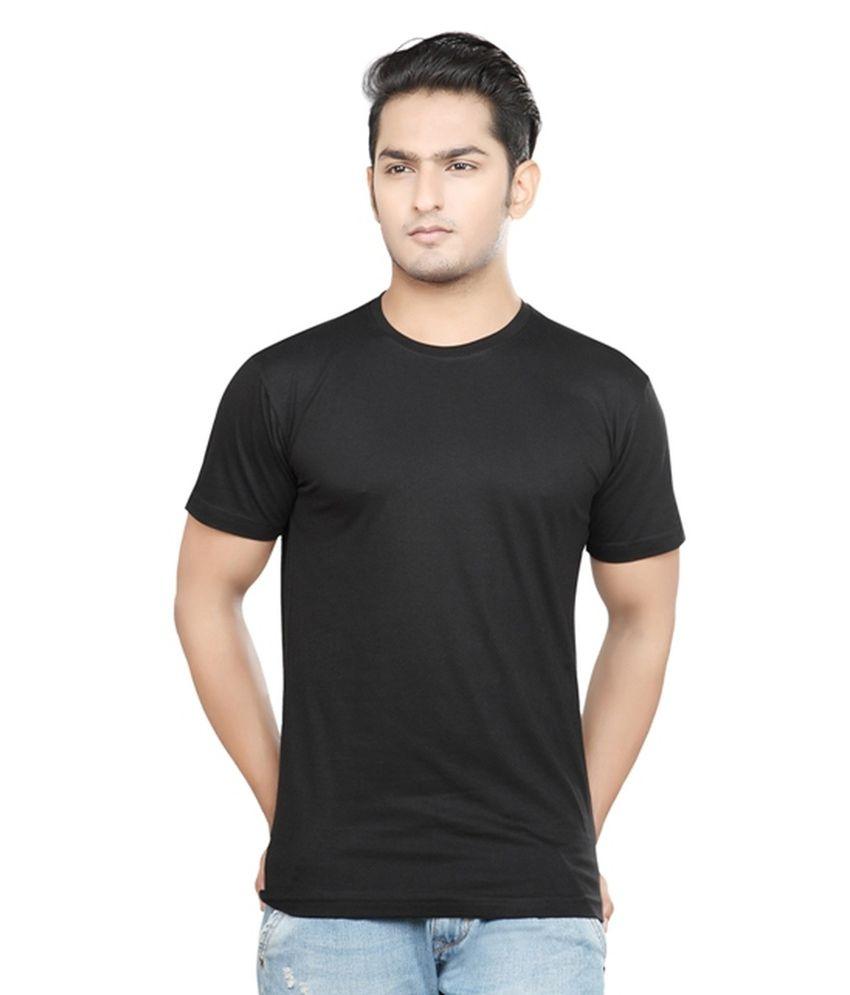 Rfam Blue Cotton Blend T-Shirt