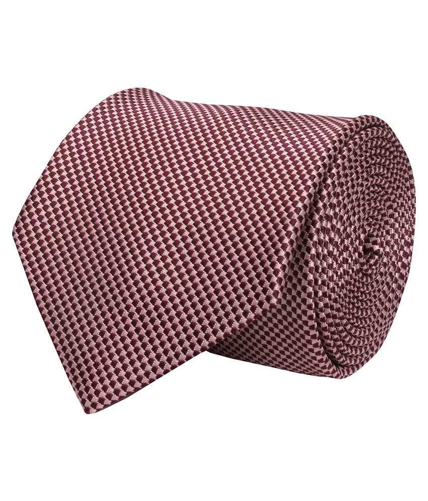 Corpwed Multicolor Micro Fiber Casual Broad Necktie
