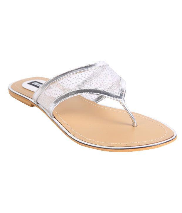 Karizma Silver Flat Slip-on