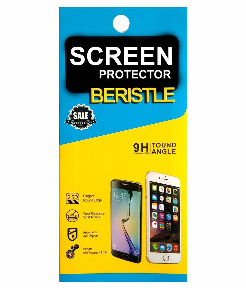 Bristle Tempered Glass Screen Guard For Samsung Galaxy S4 Mini I9192
